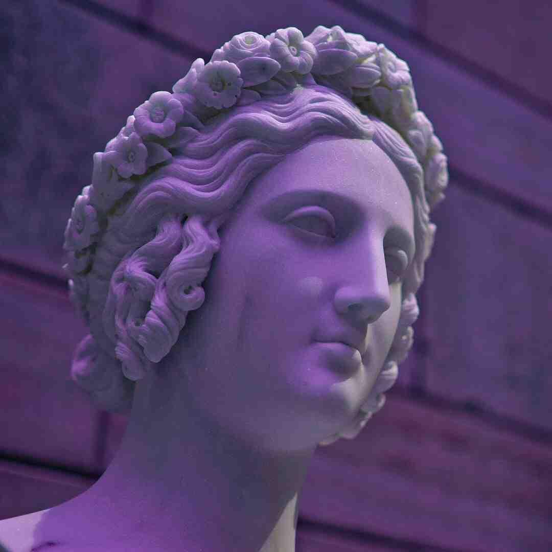 Statue de pierre pour jardin