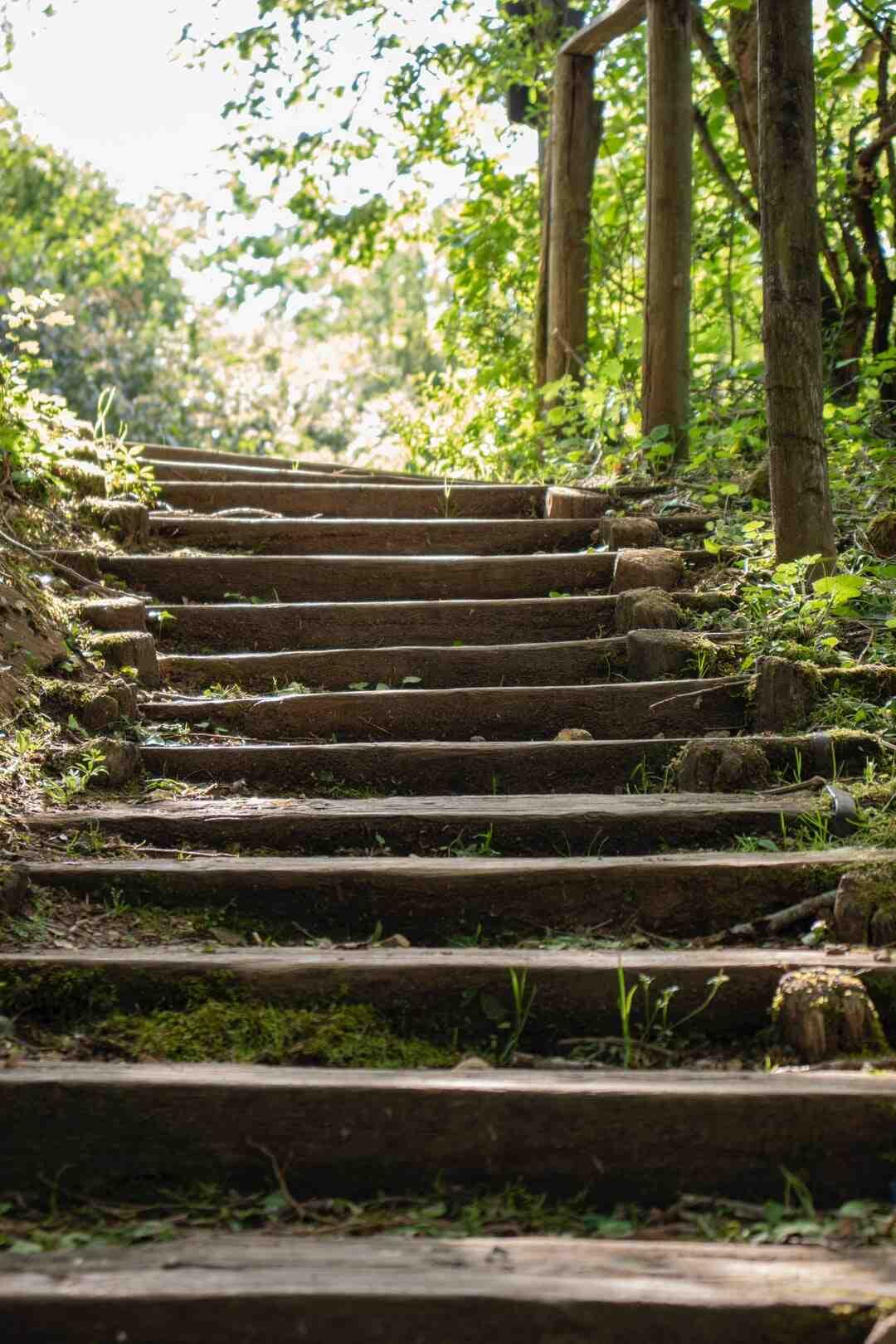 Comment recouvrir un escalier extérieur ?