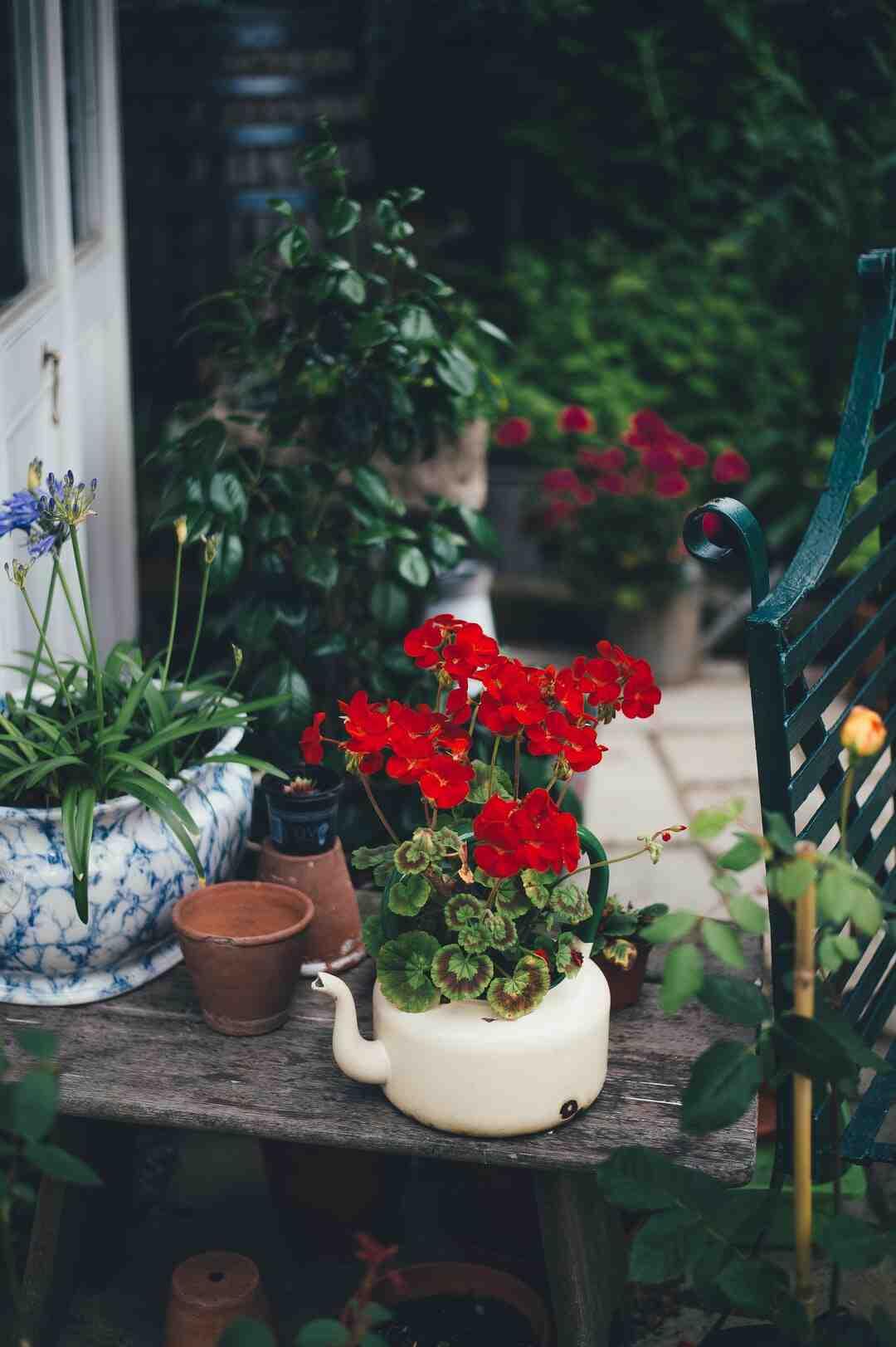 Plaque de pierre pour jardin